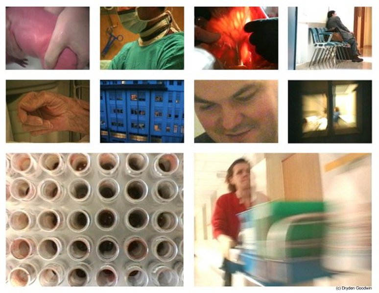 Stills from Ospedale - Copyright Dryden Goodwin